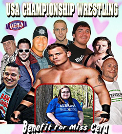 USA Championship Wrestling Benefit for Cera Anderson